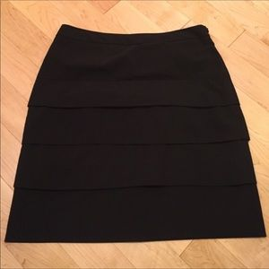 Larry Levine Tiered Skirt